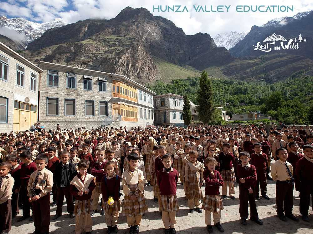 hunza valley literacy rate